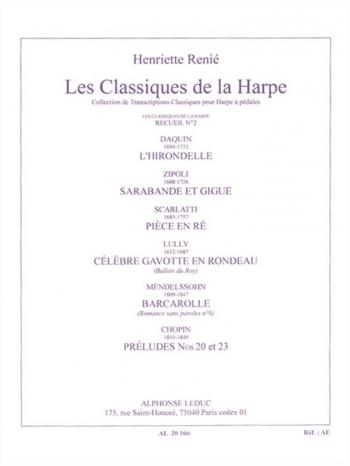 Les Classiques De La Harp: Classical Collection For Harp