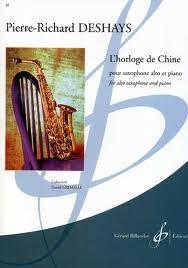 Horloge De Chine: Alto Sax And Piano