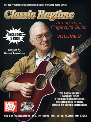 Classic Ragtime: Fingerstyle Guitar: Vol 2