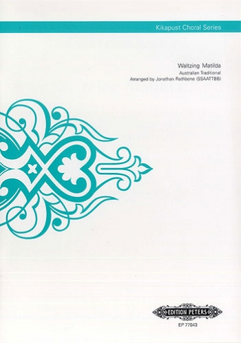 Waltzing Matilda: Vocal SSAATTBB A Cappella