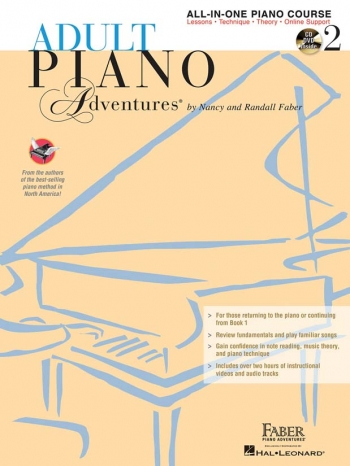 Adult Piano Adventures: All In One Lesson Book 2