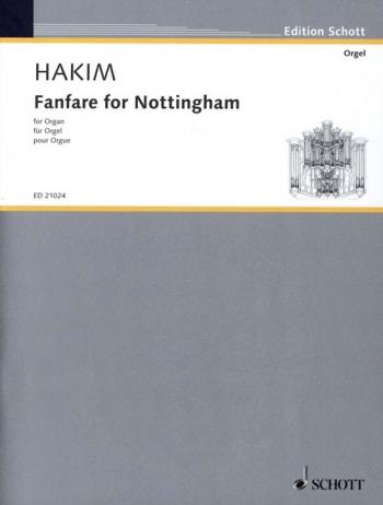 Fanfare For Nottingham: Organ