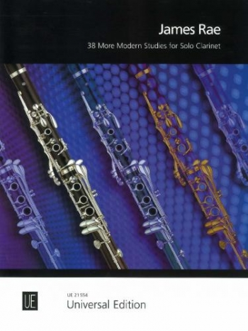 38 More Modern Studies For Clarinet (James Rae) (Universal)