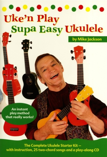 Uke N Play Supa Easy Ukulele: Book & CD (Jackson)