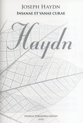 Insanae Et Vanae Curae (New Engraving)