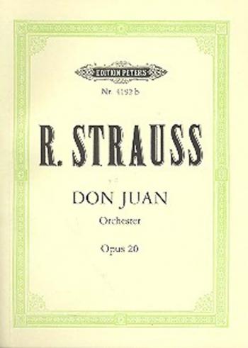 Don Juan: Miniature Score: Miniature Score