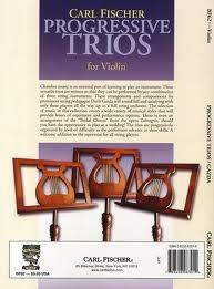 Progressive Trios For Violin