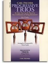 Progressive Trios For Viola