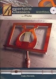 Repertoire Classics: Flute: Book & Cd