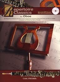 Repertoire Classics: Oboe: Book & Cd