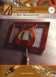 Repertoire Classics: Alto Saxophone: Book & Cd