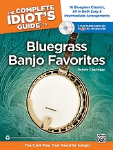 Complete Idiots Guide To Bluegrass Banjo Favorites: Bk&CD