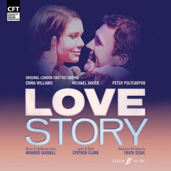 Love Story  The Original London Cast CD
