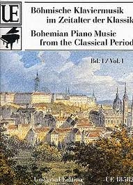 Bohemian Piano Music From The Classical Period: Vol 1: Piano