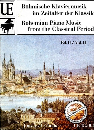 Bohemian Piano Music From The Classical Period: Vol 2: Piano