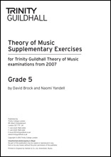 Trinity College London Theory Of Music Supplementary Exercises Papers:  Grade 5: From 2007