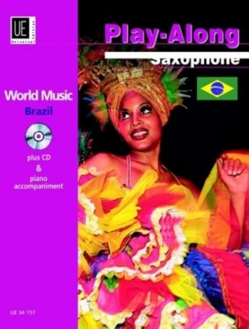 World Music: Brazil: Play Along: Saxophone: Book & CD