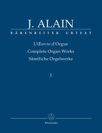 Complete Organ Works: Vol.1  (Barenreiter)
