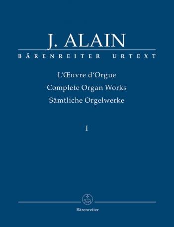 Complete Organ Works: Vol.1  (Barenreiter)