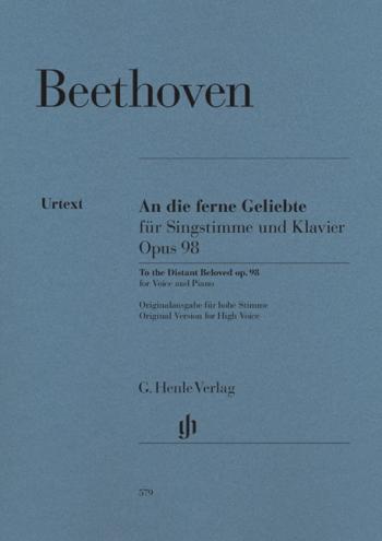 An Die Ferne Gelibte: Vocal & Piano (High)