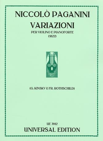 Variations On A Theme: Violin & Piano