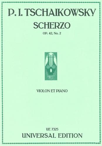Scherzo: Op 42 No 2: Violin & Piano