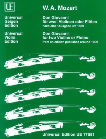 Don Giovanni: Violin Duet
