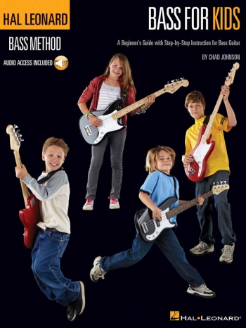 Hal Leonard Bass Method: For Kids: Bass Guitar