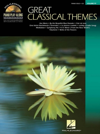 Piano Play-Along Volume 97: Great Classical Themes