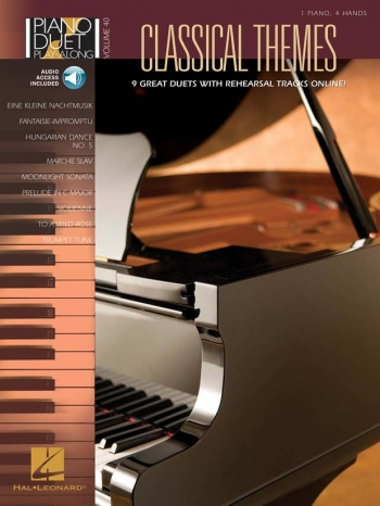 Classical Themes: Piano Duet Play Along: Vol40