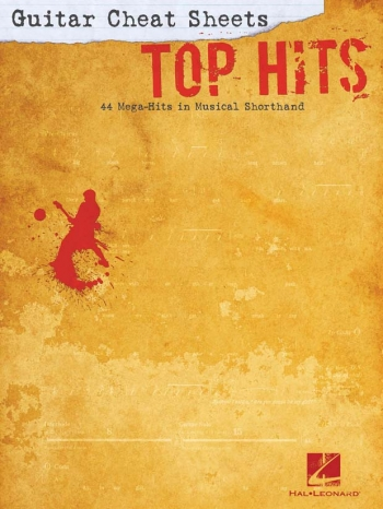 Guitar Cheat Sheets: Top Hits: Guitar Tab