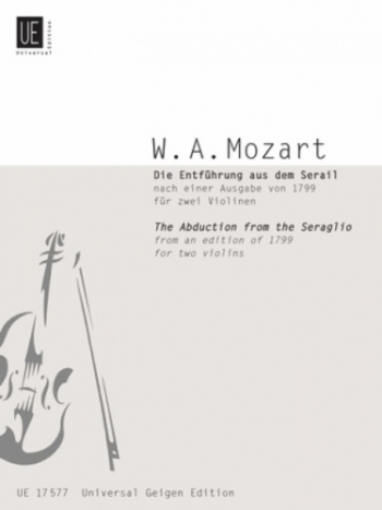 The Abduction From The Seraglio: Violin Duet