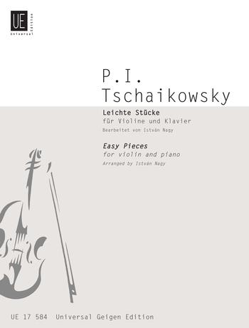 Tchaikovsky: Easy Pieces For Violin And Piano