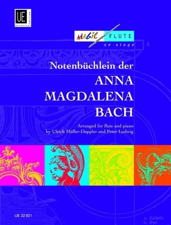 Notebook From Anna Magdalena Bach: Flute & Piano (Universal)