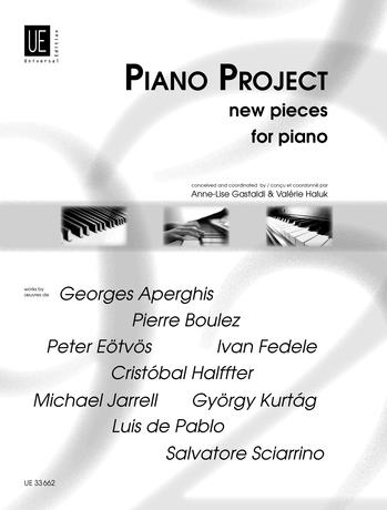 Piano Project: New Pieces For Piano
