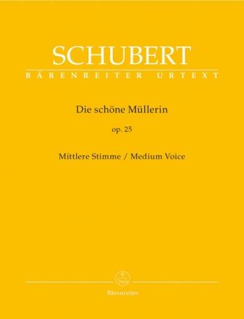 Die Schone Mullerin: Medium Voice: Vocal And Piano (Barenreiter)