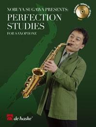 Perfection Studies: Alto Saxophone: Bk&cd (Sugawa)