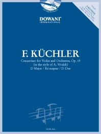 Concertino D Op.15: Violin & Orchestra: Book & Cd (Dowani)