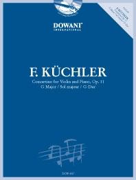 Concertino G Op.11: Violin & Piano: Book & Cd (Dowani)