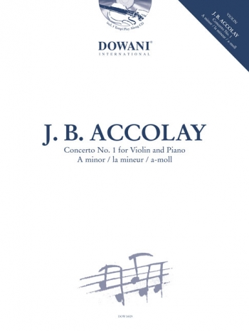 Violin Concerto A Minor No.1: Violin & Piano Book & CD (Dowani)