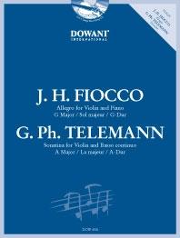 Allegro & Telemann: Sonatina: Violin & Piano (Dowani)