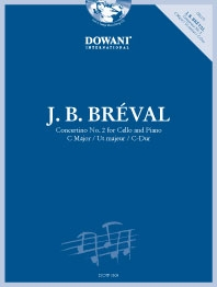 Concertino No.2 C Major: Cello & Piano Book & CD (Dowani)