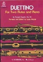 Duettino For Two Flutes And Piano Op. 36
