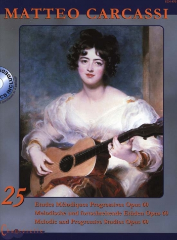 25  Etudes: Op60: Guitar