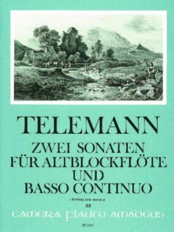 2 Sonatinas: TWV41: With Basso Continuo