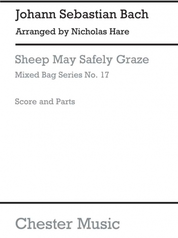 Bach: Sheep May Safley Graze:Woodwind Ensemble: Score And Parts