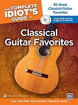 Complete Idiots Guide To Classical Guitar Favoutires