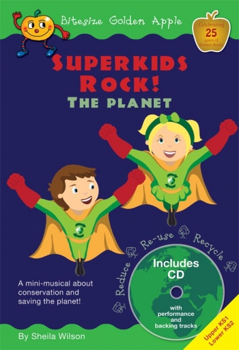 Bitesize Golden Apple: Superkids Rock: Songs KS1 & KS2
