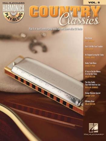 Harmonica Play-Along Volume 5: Country Classics: Bk&C