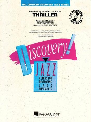 Discovery Jazz: Thriller (Michael Jackson) Big Band Score & Parts